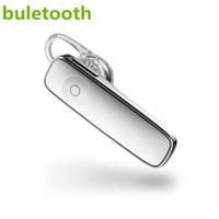 bluetooth mini universal toptan satış-Mini M165 Kablosuz Stereo Bluetooth KulaklıkKablosuz bluetooth kulaklıklar tüm cep telefonları için Evrensel Tek Dokunuşla Kontrol kulak tomurcukları