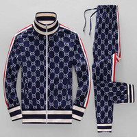 Wholesale running clothes men for sale - Group buy ss year sportswear jacket suit fashion running sportswear Medusa men s sports suit letter printing clothing tracksuit sportsJacket sp