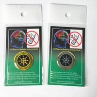 etiquetas anti radiação do telefone móvel venda por atacado-Escudo 1PC Quan-tum etiqueta Mobile Phone Etiqueta Para Celular Anti Radiation Protection De EMF Fusão Excel Anti-Radiação
