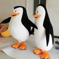 ingrosso costumi adulti madagascar-Costume animale della mascotte dei costumi della mascotte dei mascotte dei pinguini di Madagascar dei costumi adulti