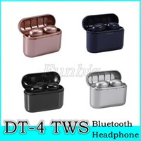 Wholesale DT tws bluetooth wireless bluetooth Earphones colorful button control wireless headset sport stereo earbuds