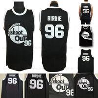 black out jersey achat en gros de-Birdie # 96 Tournoi Shoot Out Basketball Jersey Au-dessus De La Jante Uniforme Film Noir Maillots En Gros Mix Ordre Expédition Rapide