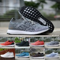 8eeb71d22a5 Men Women Top Quality Real ultraBoost Uncaged Running Shoes Triple Black White  Red Parley Ultra Boosts Sport Sneakers Size EU36-45