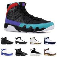 ördek basketbol ayakkabıları toptan satış-Kutusu ile DREAM IT IT 9 9 s erkekler için basketbol ayakkabı UNC BRED uzay reçeli OREGON DUCKS siyah erkek moda spor sneakers
