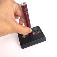 medidor de caixa de bateria venda por atacado-Ecig Acessório Dab Pen Prego Vape Pen Box Mod 510 Atomizador e bateria Voltage Resistance Medidor descartável Cartomizer Resistance Tester