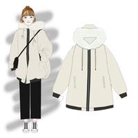 casacos de mulheres de moda de inverno coreano venda por atacado-Inverno versão coreana solta de algodão grosso casaco jaqueta casaco de algodão mulheres 2019 nova moda feminina roupas para adultos