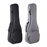 ukulele 23 polegadas venda por atacado-Ukulele Caso Saco Engrosse Soprano Concerto Tenor 23 Polegada Tamanho Ukelele Mini Guitarra Acessórios Peças Gig