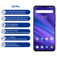 Wholesale fhd screen for sale - Group buy UMIDIGI A5 PRO Global Version Android Octa Core GB GB FHD MP Triple Camera mAh Fast charge Celular Smartphone