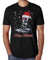 camisetas de peso pesado al por mayor-Camiseta para hombre Baby Groot Christmas DJ Camiseta Heavyweight Black T-shirt Camisetas Camiseta personalizada Jersey camiseta con capucha hip hop camiseta