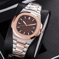 Wholesale new models glasses resale online - 2019 hot Automatic machinery mm luxury watch men sweeping movement good watch Watch model No battery watches