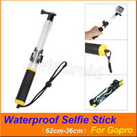 Wholesale waterproof action camera gopro for sale - Group buy Transparent Floating Waterproof For Gopro Selfie Stick Telescopic Monopod Install Remote Control holder for GoPro HERO Action Camera