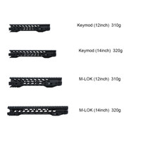 Wholesale 12 quot quot Free Float Keymod M lok Handguard Picatinny Rail for Hunting Tactical Rifle Scope Mount for AR15