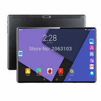 Wholesale ips dual sim gps resale online - 10 inch tablet PC G G Android Octa Core Super tablets Ram GB Rom128GB WiFi GPS tablet IPS Dual SIM GPS