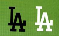 remendos de ferro beisebol venda por atacado-LA de baseball letras LA letras patches moda de rua estilo pet camisa calor transferências de Ferro Em Remendos Para saco de sapato T-shirt EUA remendo bandeira