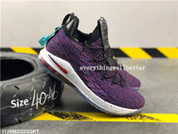 Wholesale lebron 15 for sale - Group buy 2020 delivery High Quality Lebron Performance Kith Ashes Ghost Mens Basketball Shoes Arrival Sneakers s James sports progettista lusso