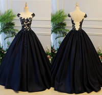 синие платья выпускного вечера 8-го сорта оптовых-2019 темно-синий бальное платье вечерние платья длинные аппликации из бисера блестки Bodied драпированные атласное платье выпускного вечера платья 8-й класс платье