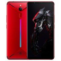 android handy zte großhandel-Ursprüngliches ZTE Nubia rotes magisches Mars-Spiel-Telefon 4G LTE Handy 6GB RAM 64GB ROM Snapdragon845 Octa Core Android 6.0