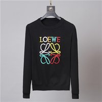 Wholesale spain clothes resale online - Hot Brand Fashion Designers LOEWE Unisex Sweaters Europe Spain Luxuries Mens Women Autumn winter Woolen sweater Clothing Medusa FF