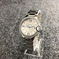 relojes de lujo aaa al por mayor-Cuero de lujo de la marca del reloj W125 mecánicos relojes de cuarzo relojes para mujer para hombre de la banda de acero Parejas de piel watchs CalidadAAACARTIER