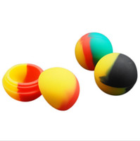 силиконовый шарик оптовых-Силиконовые банки Dab Wax испаритель масляный контейнер Маленький шарик диаметром 30 мм С антипригарным покрытием восковые контейнеры Силиконовая коробка