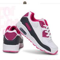 zapatos calientes niños al por mayor-Venta caliente Marca Niños Deportes ocasionales Zapatos para niños Zapatillas para niños y niñas Zapatillas de correr para niños