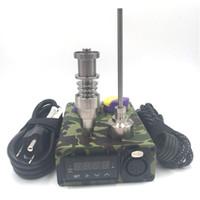 Wholesale enail electronic temperature controller box for sale - Group buy Enail electronic temperature controller box For DIY Smoker Ti Nail for glass bong