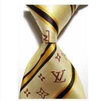 ingrosso legami per gli uomini-Cravatta da uomo classica da uomo in poliestere di seta cravatta da uomo, cravatta da uomo, cravatta da lavoro, cravatta da uomo