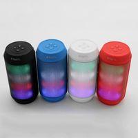 ingrosso altoparlanti bluetooth mini hd-2019 hot item Mini LED portatili HD Surround Sound Altoparlante Bluetooth Vivavoce Chiama voce wireless per altoparlante
