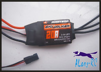 FREE SHIPPING high quality Hobbywing skywalker 20A (2-3s) brushless ESC-for RC airplane model hobby plane  spare part