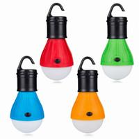 Mini Portable Lighting Lantern Tent Light LED Bulb Emergency Lamp Waterproof Hanging Hook Flashlight Camping Light Use