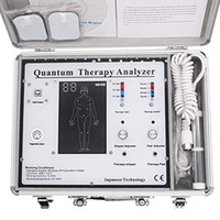 Quantum Therapy Analyzer 2021 New 52 Reports Multifunctional Quantum Magnetic Resonance Health Body Analyzer 5 in 1 Massager DHL Free Ship