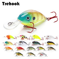 Wholesale topwater hard bait for sale - Group buy TREHOOK cm g Topwater Mini Crankbaits Fishing Lure Artificial Hard Bait Trolling Wobblers Fishing Tackle Lures Bass Swimbait T191016