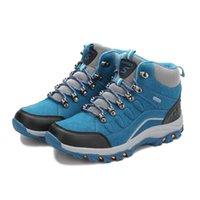 zapatos de deporte de los hombres grandes al por mayor-zapatos para caminatas 2018 nuevos amantes, zapatos de alpinismo, zapatos deportivos de cuero para exteriores, caminatas grandes para hombres y mujeres.46 # 44976