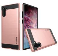 Wholesale verus samsung online – custom Verus Hybrid Brushed Armor Case For Samsung Galaxy Note Note Plus S10 S10 Plus S10e Note9 S9 S8 S7 S6 Edge