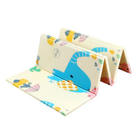 детская головоломка ползет оптовых-Infant Shining Thick Baby Mat Playmat Foldable Kid Play Mat 200*180*1CM Large Child Crawling Puzzle Blanket Game Pad