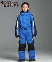 Warm Winter Ski Suit For Girls Snowboarding Set Kids Skiing Jumpsuit  Thermal Boy s Sport Suit Girl s Ski Jacket Waterproof 2-14T C18112301 a6aff9ee0