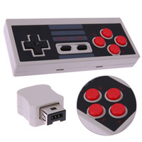 Wholesale nes mini controller resale online - For NES Classic Edition Wireless Controller GHZ Joypad Joystick Controller SNES Super for Nintendo Classic MINI Remote Console USB Plug