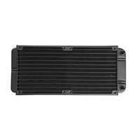 Wholesale copper radiator water cooling for sale - Group buy 240mm Tube Aluminum alloy Computer Water Cooler PC Case Water Cooling Radiator Heat Exchanger for Laptop Desktop