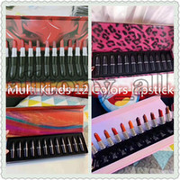Wholesale nice lipstick for sale - Group buy 2020Drop Shipping Newest Multi M brand Lip cosmetics Lipstick set The Bullet Matte Lipstick Boom Bloom with nice quality