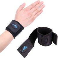 ingrosso polso brace pallavolo-1 paio di supporto per il polso Sport Tennis Sollevamento pesi Pallavolo Wristband Bracer fitness palestra Wrap Bandage Strap Wrist Brace Support