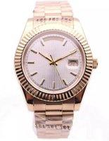 застежка-молния оптовых-37 роскошные часы DAYDATE стиль полоса zifferblatt 18 к золотые часы сапфировое зеркало с автоподзаводом механическое движение оголовье ремешок складной пряжка Wristwa