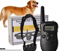 Wholesale barking collars for dogs for sale - Group buy Remote Dog Training Device for Pet Dog Articles Vibration Shock Barking Stopper m pair dog barking collar