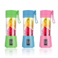 Portable Smoothie Blender, 380ml Juicer Bottle, USB Rechargeable, For Smoothies, Juices, Milkshakes, and More, Use with Citrus, Fruits, Berries, Vegetables