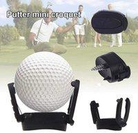 ingrosso le frecce trasportano il trasporto libero-Griglia 1000PCS plastica Grip Golf Ball Pick Up per Putter Aprire Pitch e Retriever strumento golf Accessori Pick-up Pallina da golf sugli aiuti alla formazione