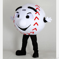 Wholesale stars baseball team for sale - Group buy Hot sale new Baseball Sport Team Cheerleading School Mascot Costume Adult Size