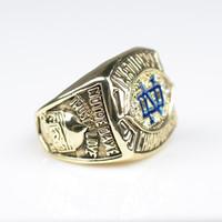 costumes feitos à venda venda por atacado-Venda direta da fábrica NCAA, universidade de Notre Dame em Paris em 1988 anel de campeão costume personalizado fazer a ordem
