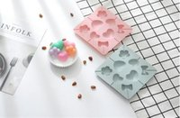 Wholesale love mould resale online - Eight bow tied loving silicone lollipop moulds