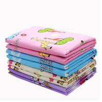 Wholesale diaper sales resale online - Sales cm Pure Cotton Baby Changing Pad Portable Foldable Waterproof Compact Travel Nappy Diaper Crawling Mat Carpet Rugs