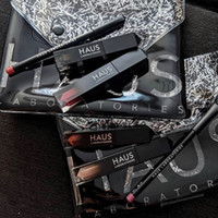 Wholesale make up lip liner for sale - Group buy in fashion HAUS BEAUTY NEWS make up set with pencil sharpener lipstick eyebrow pencil lip liner eyeliner