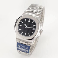 japan inoxidável venda por atacado-Relógio de luxo japão miyota 8215 homens mecânicos automáticos assistir aço inoxidável cinta nautilus alta qualidade pp assistir esportes relógio de pulso montre
